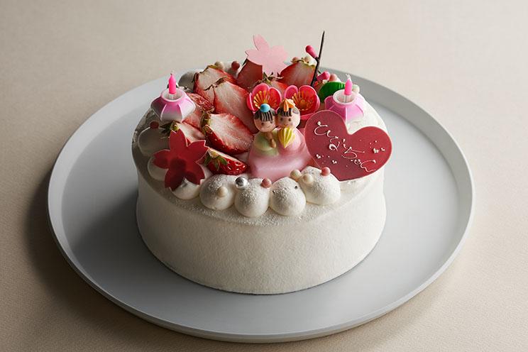 ひなまつり 生デコレーションケーキ